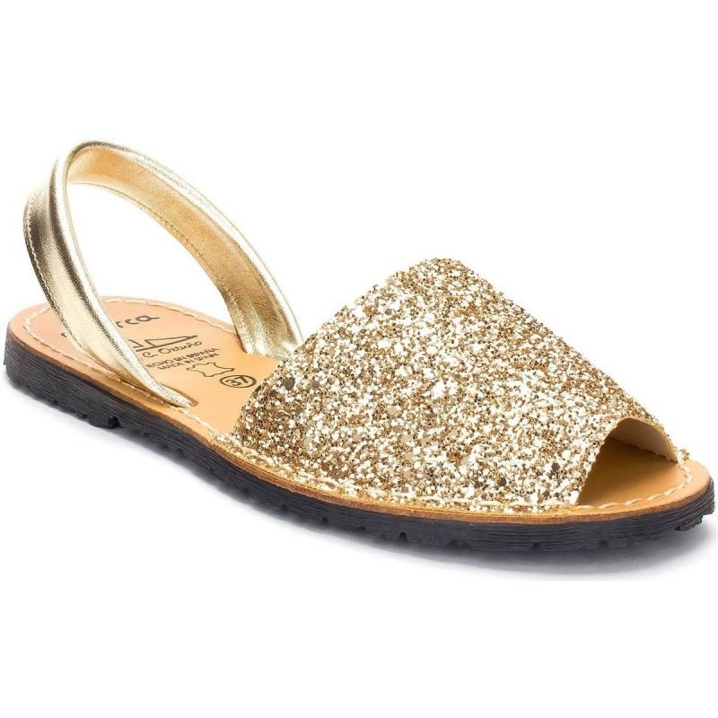 Menorquina Glitter Oro