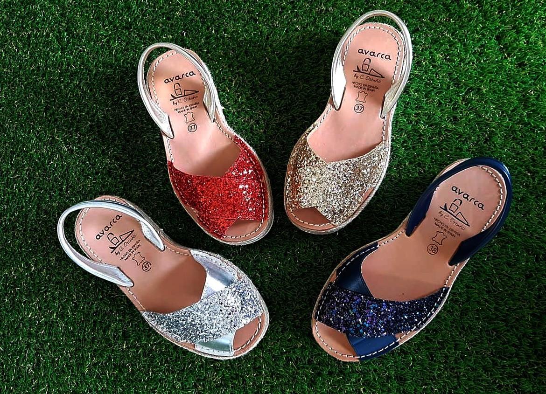 ¿ Te gustar las menorquinas Glitter ?